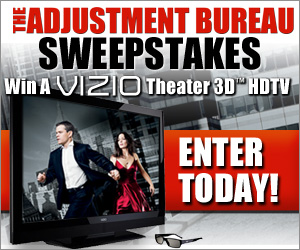 Adjustment Bureau Sweepstakes